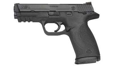 "Smith & Wesson M&P, Full Size, 9MM, 4.25"" Barrel, Polymer Frame,Blue Finish, Low Profile Carry Sights, 17Rd, 2 Magazines, No Internal Lock 209301"