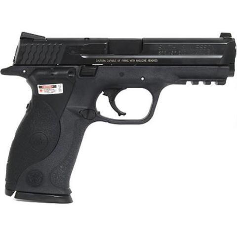"""Smith & Wesson M&P, Full Size, 40 S&W, 4.25"""" Barrel, Polymer Frame, Blue Finish, Crimson Trace Lasergrips, Low Profile Carry Sights, 15Rd, 2 Magazines 220071"""