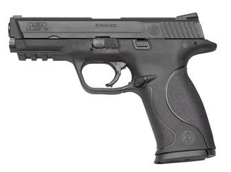 """Smith & Wesson M&P, Full Size, 9MM, 4.25"""" Barrel, Polymer Frame,Blue Finish, Low Profile Carry Sights, 10Rd, 2 Magazines, No Internal Lock 109301"""