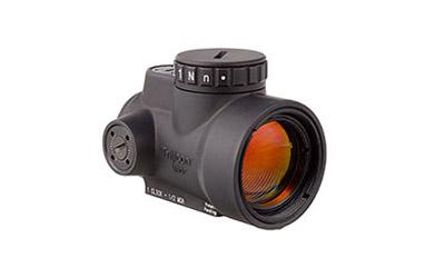 Trijicon MRO-Miniature Rifle Optic, Red Dot, 1X25, Black Finish, 2.0MOA ADJ Red Dot MRO-C-2200003