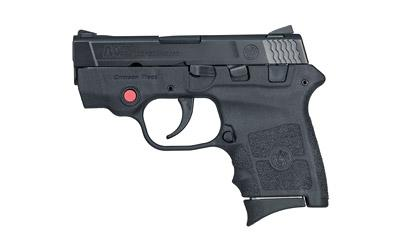 "Smith & Wesson M&P Bodyguard, Double Action Only, Sub Compact Pistol, 380ACP, 2.75"" Barrel, Polymer Frame, Black Finish, 6Rd, Crimson Trace Laser, No Manual Safety, Adjustable Sights 10265"