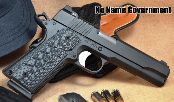 """Guncrafter Industries """"No Name"""" Government .45ACP"""