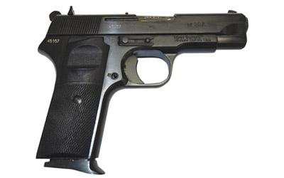 """Century Arms, M88A, Semi-automatic Pistol, Compact Size, 9MM, 3.78"""" Barrel, Steel Frame, Black Finish, Plastic Grips, 8Rd, 2 Mags, Hammer Forged Barrel and Slide, External Safety, 1.87 Pounds"""