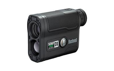 Bushnell Scout DX 1000 ARC, Rangefinder, 6X21, Single Button, Black Finish, Box 202355