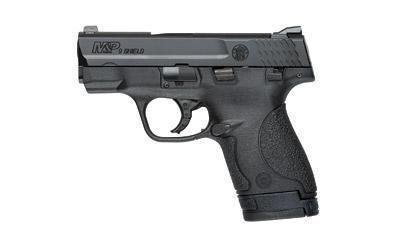 "Smith & Wesson Shield, Double Action Only, Compact, 9 MM, 3.125"" Barrel, Polymer Fame, Blue Finish, 3 Dot Sight, Thumb Safety, 7 and 8Rd, 2 Magazines 180021"