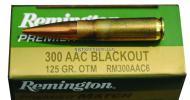 Remington 300 AAC Blackout 125Grain Premier Match