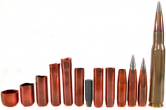 Bullets from various manufacturers