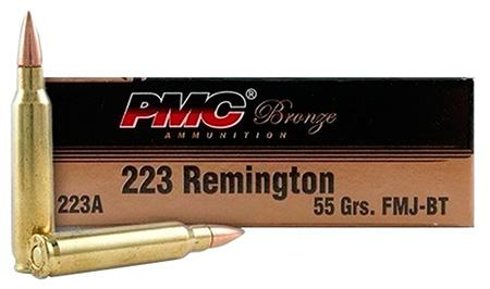 PMC 223 55 GRAIN BRASS CASING 1000 ROUND CASE