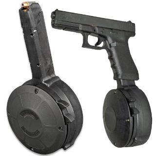 RWB, Glock 9MM, 50 Round Drum
