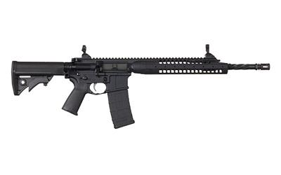 "LWRC, IC-A5, Semi-automatic Rifle, 223 Rem/556NATO, 16.1"" Spiral Fluted Barrel, 1:7 Twist, Black Finish, LWRCI Compact Stock, Magpul MOE+ Grip, 30Rd"