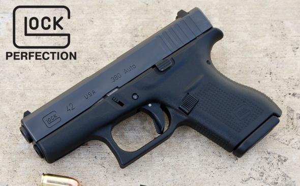 Glock 42 380 ACP 3 25