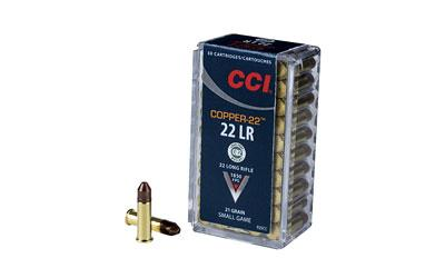 CCI/Speer Copper-22, 22LR, 21 Grain, Copper, Lead Free 925CC