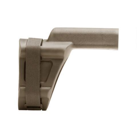 SB Tactical SBV FDE, Pistol Stabilizing Brace, FDE, Fits AR Pistol Buffer  Tube SBV-01