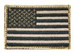 "Blackhawk American Flag Patch Tan/Black 2""X3"" 90DTFV"