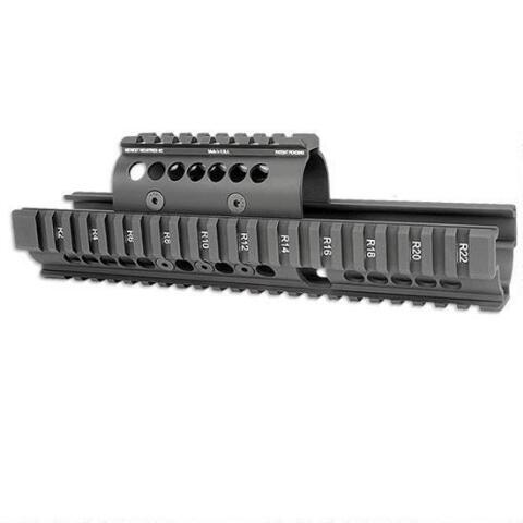 Midwest Industries AK Extended Handguard Black