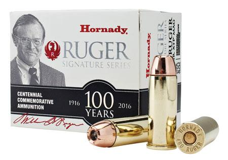 Hornady William B  Ruger Commemorative Ammunition 480 Ruger 325 Grain XTP  Mag Box of 20