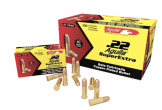 Aquila High Velocity Rifle Ammunition 1B222328, .22 Long Rifle, Solid Point, 40 GR, 1250 fps, 500 Rounds Per Box