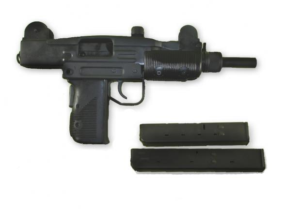 Red Circle Tactical Vector Arms Mini Uzi Pistol In 9mm 25rd 32rd