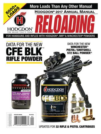 Hodgdon Yearly Reloading Manual 2017