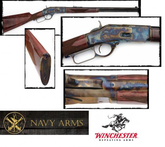 Winchester's New Generation Model 1873  357 Mag 20