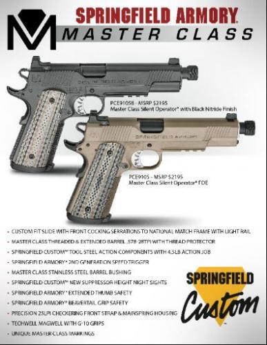 Springfield Armory Catalog Request