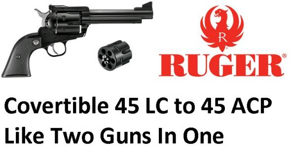 Convertible Ruger