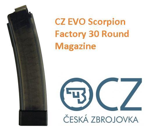 Factory CZ Magazine for CZ Scorpion EVO 9mm 30 Round 💲💲Cash $22.95💲💲