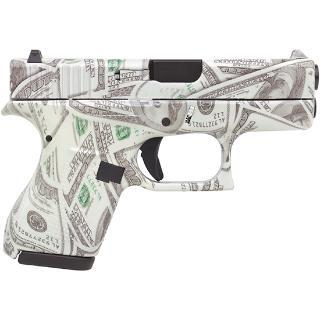 Glock 42  380 ACP Glowing $100 Bills