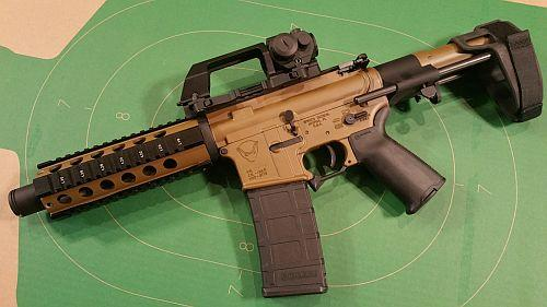This carry handle red dot mount looks   good - Page 1 - AR15 COM