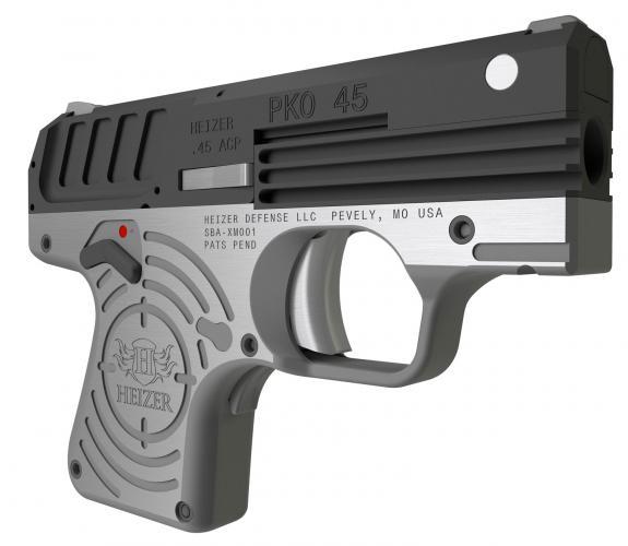 E & S GUN EMPORIUM | Heizer CKH45BLK PKO 45 Single 45 Automatic Colt ...