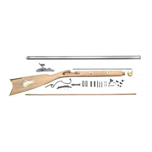 Traditions KR59308 Mountain Muzzleloading Rifle Kit,  50 Cal Side Lock,  Select Hardwood Perc