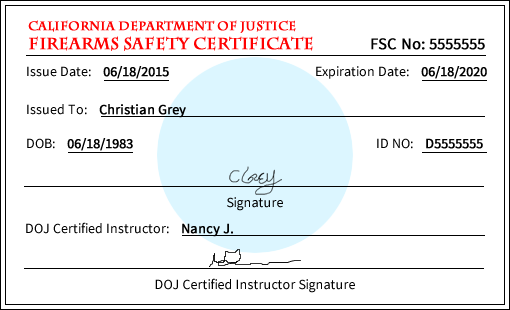 P2K Sports | Firearm Safety Certificate Instructor California