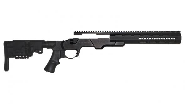 American Built Arms, MOD X GEN III, M783 Remington 783 Short Action, Right  Handed, Black Finish