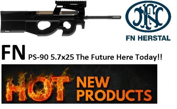 """FNH USA PS-90® Semi-Automatic 5.7mmX28mm 16.04"""" 30+1 Syn Stk Black"""