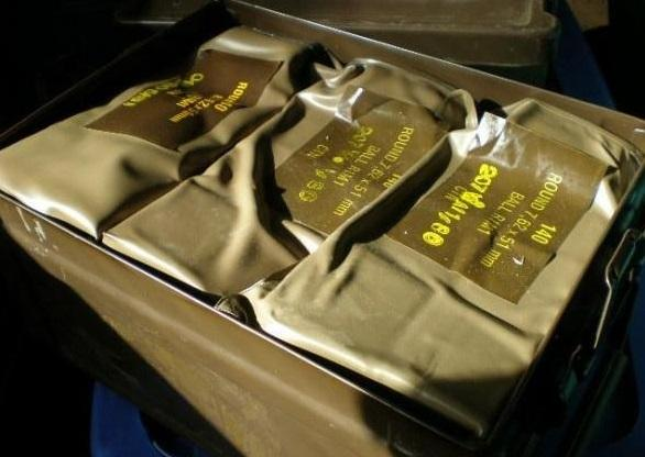 140 Rounds 7.62NATO (308) Surplus Sealed Battlepacks of Surplus South African R1M