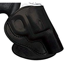 Tagua PD3R, Paddle Holster, Right Hand, Black, Ruger LCR, Leather PD3R-020