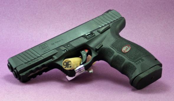 SAR USA SAR9, Semi-automatic, Striker Fired Pistol, 9MM, 4 4