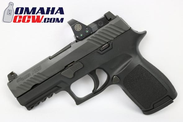 Sig Sauer P320 RX Compact w/ Romeo 1 (pre-owned, like new)