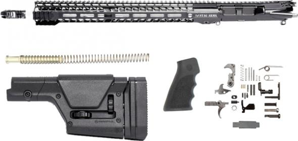 "Stag Arms, 15 Rifle Kit 224 Valkyrie 18""ss Fluted 25 Round, M-lok Black"