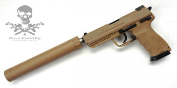trail boss guns aac ti rant 45 m16x1lh fde silencer 64101 45