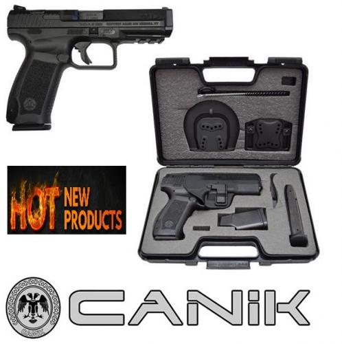 """Century Arms TP9SA Semi-automatic 9MM 4.47"""" Polymer Black 18Rd Cold Forged Barrel HG3277-N"""
