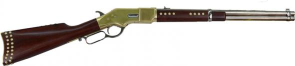 Cimarron Firearms 1866 Indian Carbine Lever Action Rifle  45 LC 19