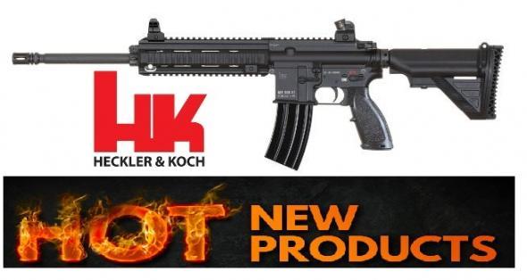 Heckler & Koch HKI MR556 Match Combat Rifle 5.56mm 16.5 Inch Barrel Black Finish 6-Position Buttstock 30 Round