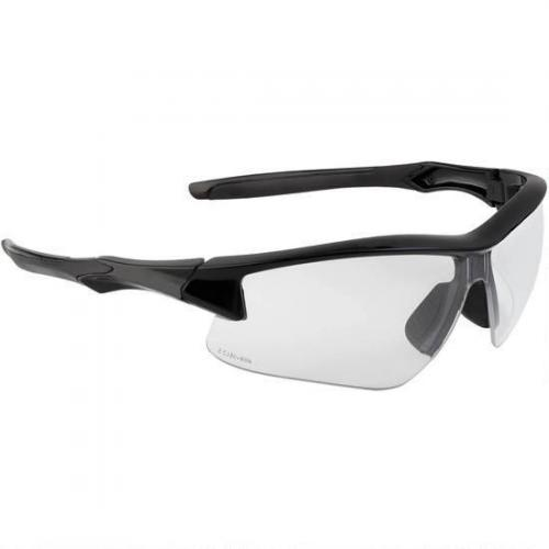 badass gunshop acadia shooter s safety glasses clear lens with