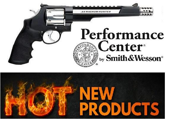 Smith & Wesson 629 Performance Center Hunter Revolver 44 MAG, 7.5 in, Syn Grp, 6 Rnd, Large Blk Frame