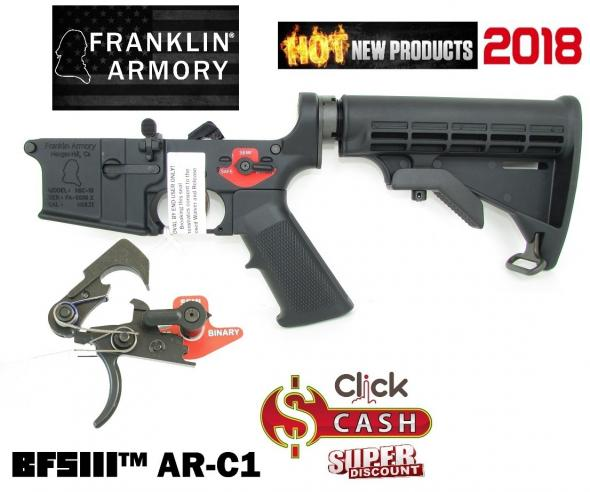 BTS III W Franklin Armory M4-Billet Lower Receiver