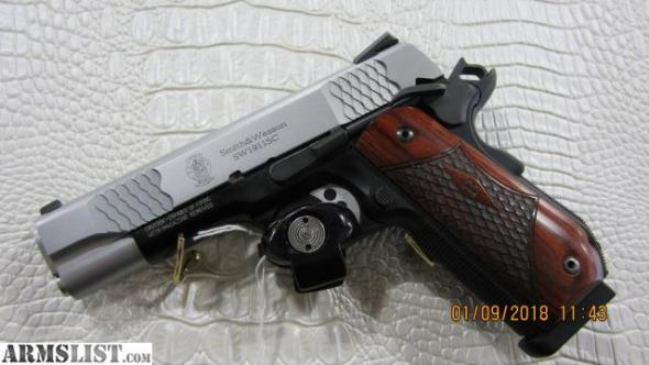 Smith & Wesson SW1911Sc E-Series, Round Butt, Scandium Frame