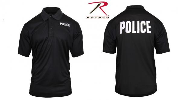 Rothco Moisture Wicking Security Polo Shirt 2 Sided Security Shirt 3216