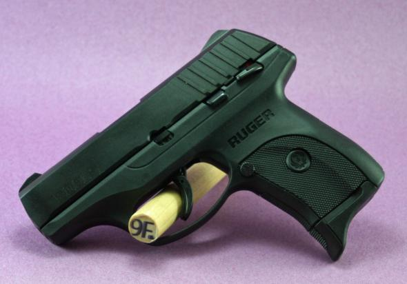 Ruger, EC9s, Semi-automatic, Striker Fired, Compact, 9MM, 3 1