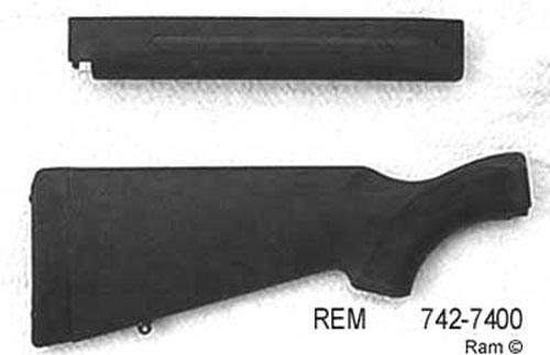 Remington model 742/ 7400 stock set Black Synthetic